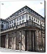 Bank Of England Acrylic Print