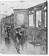 Bank Snatcher, 1890 Acrylic Print