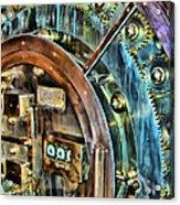 Bank Vault Door Acrylic Print
