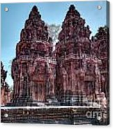 Banteay Srei Temple Central Towers  Acrylic Print