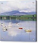 Bantry Bay, County Cork, Ireland Boats Acrylic Print