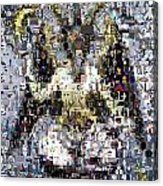 Baphomet Mosaic Acrylic Print