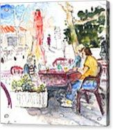 Bar Avenida En El Albir In Spain Acrylic Print
