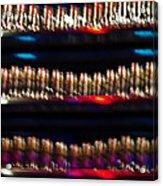 Bar Colors Acrylic Print