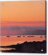 Bar Harbor Dawn Acrylic Print