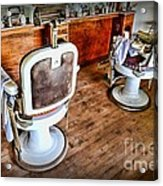 Barber - The Barber Shop 2 Acrylic Print by Paul Ward