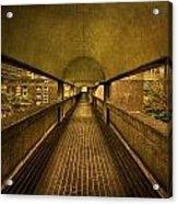 Barbican Walk Acrylic Print