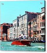 Barca Di Venezia Acrylic Print