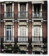 Barcelona Balconies Acrylic Print