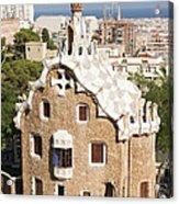 Barcelona Parc Guell Acrylic Print