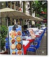 Barcelona Tapas Bar Acrylic Print