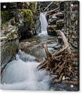 Baring Creek Waterfall And Rapids Acrylic Print
