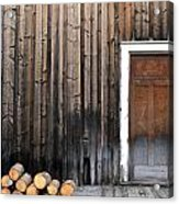 Barkerville Back Porch Acrylic Print