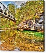 Barkshed Creek Bridge Acrylic Print