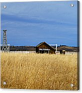 Barn And Windmill Stand Acrylic Print