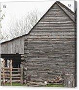 Barn Before Lightroom Acrylic Print