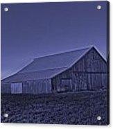 Barn Cold Acrylic Print