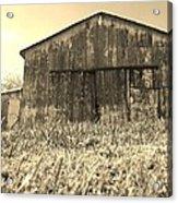 Barn In Brown Acrylic Print