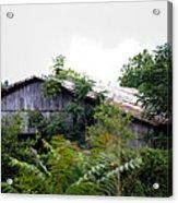Barn In The Storm Acrylic Print