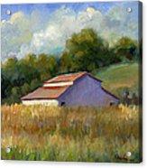 Barn On Lakeville Highway Acrylic Print