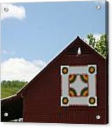 Barn Quilt - 2 Acrylic Print