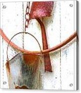 Barn Wall Acrylic Print