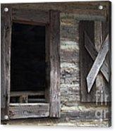 Barn Windows Acrylic Print