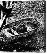Barnacle Boat Acrylic Print