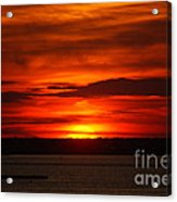 Barnegat Bay Sunset Acrylic Print
