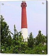Barnegat Lighthouse Old Barney Long Beach Island Nj Acrylic Print