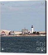 Barnstable Harbor Lighthouse Acrylic Print
