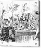 Barnums Museum, 1853 Acrylic Print
