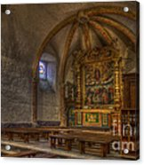 Baroque Church In Savoire France 3 Acrylic Print