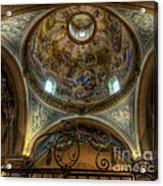 Baroque Church In Savoire France 5 Acrylic Print