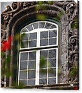 Baroque Style Window Acrylic Print