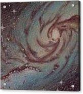 Barred Spiral Galaxy Ngc 1313 Acrylic Print