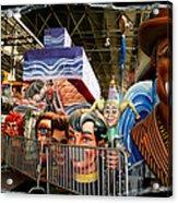 Barricade Heads Acrylic Print