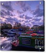Barrow Boats 2.0 Acrylic Print