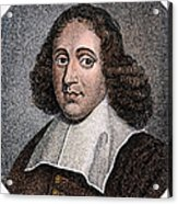 Baruch Spinoza (1632-1677) Acrylic Print