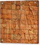 Bas Relief Acrylic Print