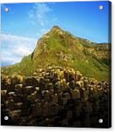 Basalt Rock Formations Near A Mountain Acrylic Print
