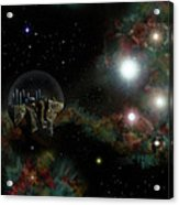 Base In Space Acrylic Print