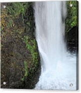 Base Of The Falls Acrylic Print