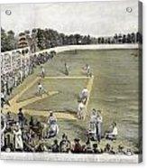 Baseball, 1866 Acrylic Print