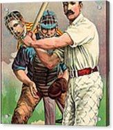 Baseball Player, C1895 Acrylic Print