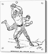 Baseball Players, 1889 Acrylic Print