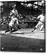 Baseball: Washington, 1925 Acrylic Print