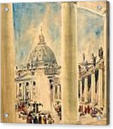 Basilica In Italy Acrylic Print