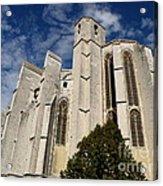 Basilica Of Saint Mary Madalene Back View Acrylic Print