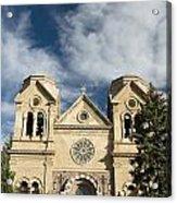 Basilica Of St Francis Acrylic Print